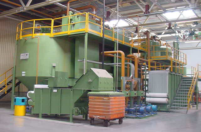 Centralized filtering system of automobile engine workshop
